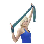 Physio Band - ARTZT vitality latexfree Übungsband, 2,5 m x 11,5 cm, stark, grün