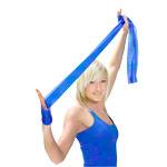 Physio Band - ARTZT vitality latexfree Übungsband, 2,5 m x 12 cm, extra stark, blau