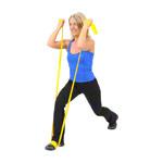 Physio Band - ARTZT vitality latexfree Übungsband, 25 m x 8 cm, leicht, gelb
