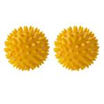 Noppenbälle - ARTZT vitality Massage-Ball, Ø 8 cm, gelb, 2 Stück