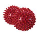 Igelball - ARTZT vitality Massage-Ball, Ø 9 cm, rot, 2 Stück