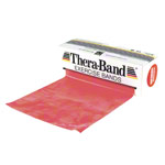 Thera-Band, Aktion: 45,5 m Rolle, mittel, rot + 5,5 m Rolle, mittel, rot GRATIS