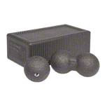 BLACKROLL Block-Set, 3-tlg., 1 Blackroll Block, 1 Blackroll Ball DUO, 1 Blackroll Ball ø 8 cm