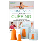 BellaBambi® Release- Bundle, original, mini orange, Buch Schmerzfrei durch Cupping