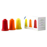 BellaBambi® original trio, SENSITIVE gelb, REGULAR orange, INTENSE rot Faszien Cup Set