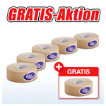 Cure Tape, Aktion: 5 Rollen, 5 m x 2,5 cm, neutral + 1 Rolle GRATIS