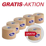 Cure Tape, Aktion: 5 Rollen, 5 m x 5 cm, neutral + 1 Rolle GRATIS