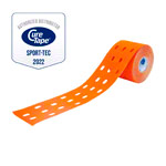 Cure Tape Punch, 5 m x 5 cm, wasserfest, orange
