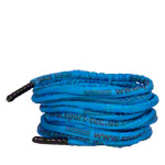 Fitness Tau Battle Rope ummantelt, ø 3 cm x 15 m, blau