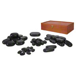 Hot Stone Steine-Set, 45-tlg.