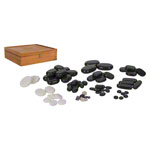 Hot Stone Steine-Set, 68-tlg.