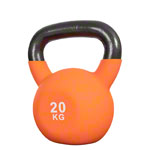 Kettlebell, 20 kg, orange