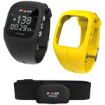 POLAR A300 HR Activity Tracker-Set, inkl. Wechselarmband und Heart Rate Sensor