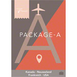 Passport Virtual Active - USB Stick, Pack A (Kanada, Neuseeland, Frankreich, USA)
