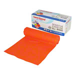 Sanctband �bungsband, 5,5 m x 15 cm, leicht, orange