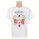 T-Shirt Touch me, Gr. XL