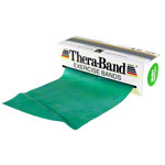 Thera-Band, 5,50 m x 12,8 cm, stark, gr�n