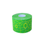Thera-Band Kinesiology Tape XactStretch, 5 m x 5 cm, gr�n/gelb