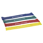 Thera-Band Loop 4er Set, ø 29 cm, 7,6x45,5 cm, je 1x gelb, rot, grün, blau