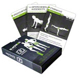 sportboXX Trainingskarten Blackroll Edition, 37 Karten