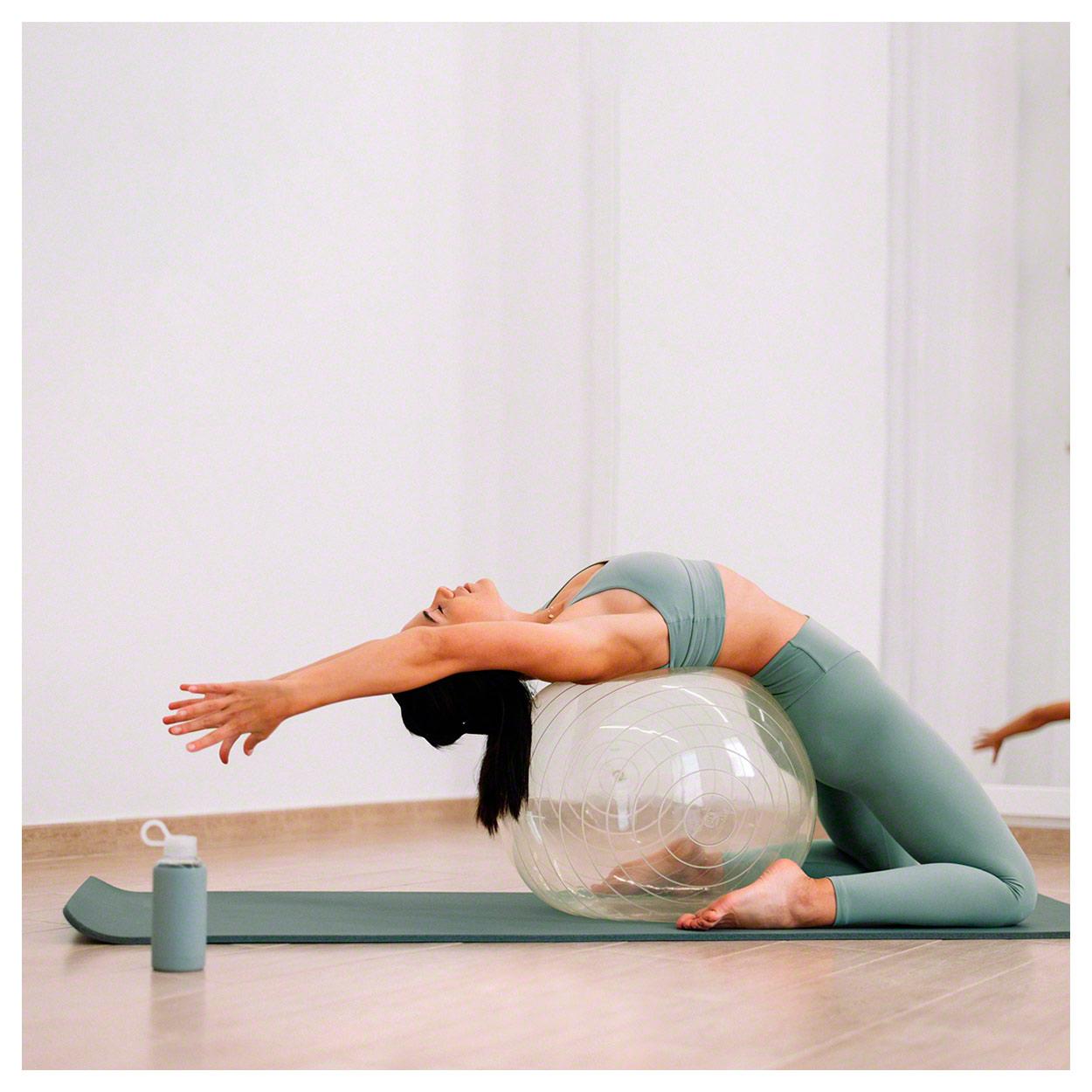 Original Opti-Ball pelota de gimnasia pelota de asiento transparente oficina pelota Ø 65 cm nuevo!
