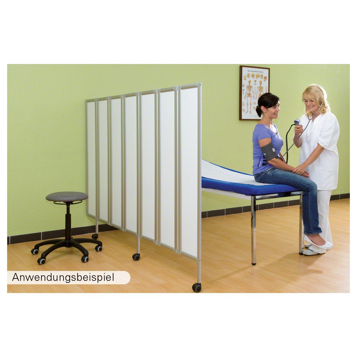 Flexible faltwand raumteiler sichtschutz therapie praxis - Fenster 2 flugelig ...