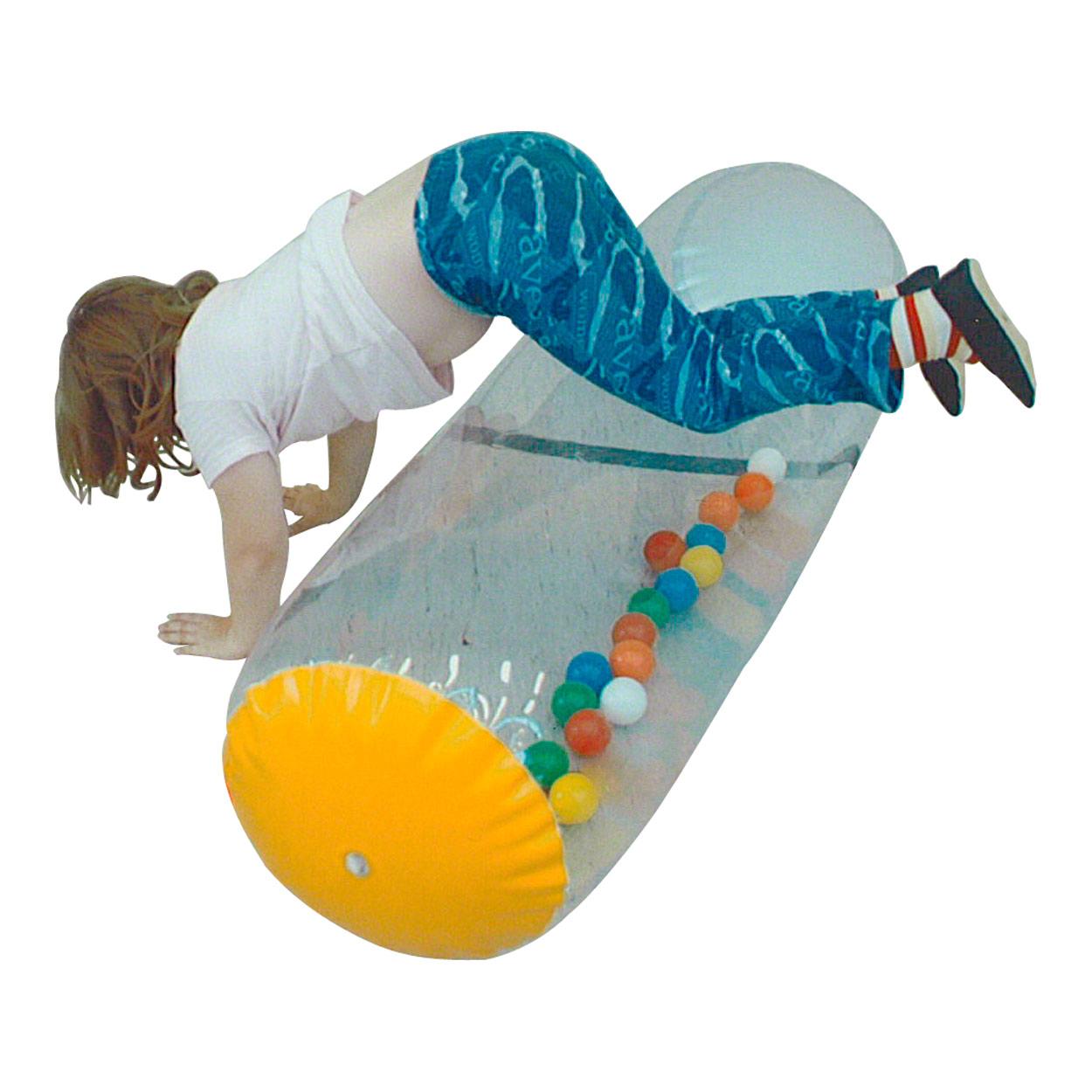 Spielzeug für draußen Therapierolle aufblasbare Spiel Rolle Spielzeug gefüllt mit Bällen