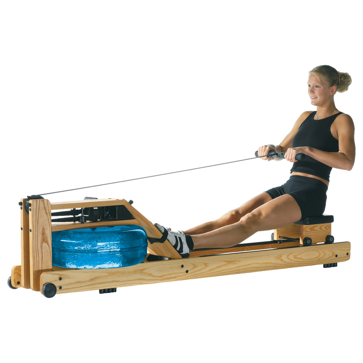 waterrower ruderger t esche natur inkl s4 monitor. Black Bedroom Furniture Sets. Home Design Ideas