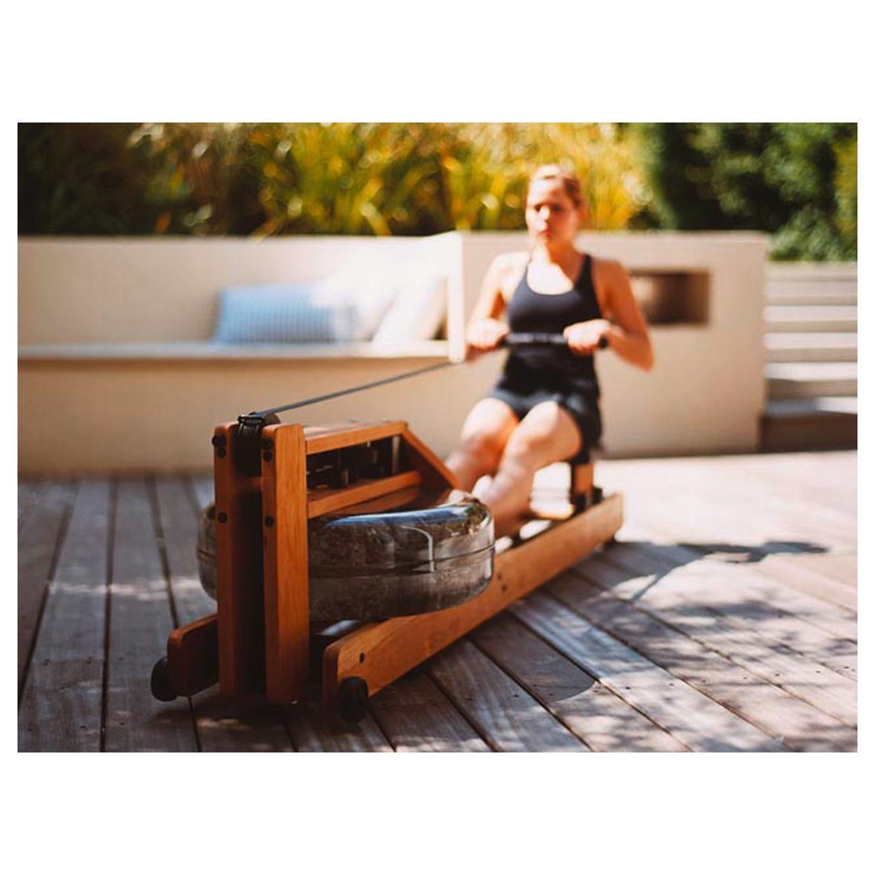 waterrower ruderger t kirsche oxbridge inkl s4 monitor rudermaschine ebay. Black Bedroom Furniture Sets. Home Design Ideas