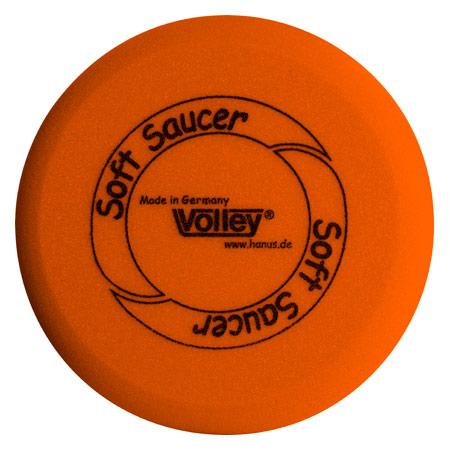 VOLLEY Schaumstoff-Frisbee Soft Saucer unbeschichtet, Ř 25 cm 01251