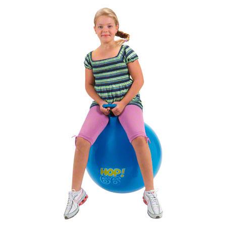 Gymnic Hüpfball, Ř 65 cm, blau 02020