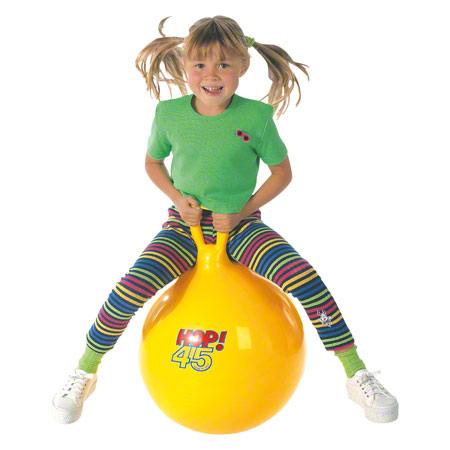 Gymnic Hüpfball, Ř 45 cm, gelb 02024