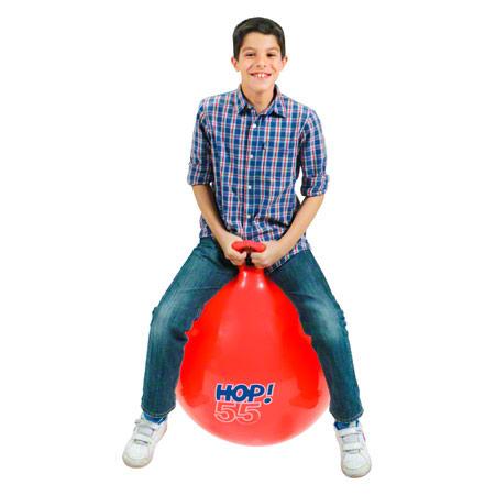 Gymnic Hüpfball, Ř 55 cm, rot 02025