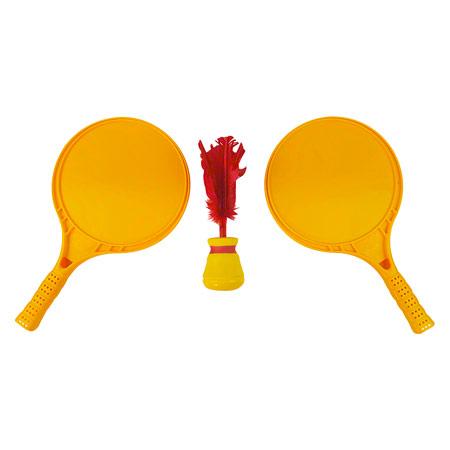 Bremshey Indiaca Tennis-Set inkl. 2 Spezialschläger und Ball 02110