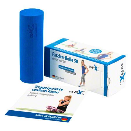 softX® Faszien-Rolle 50, ř 5 cm x 15 cm, blau 02700