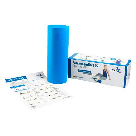 softX® Faszien-Rolle 145, ř 14,5 cm x 40 cm, blau 02704