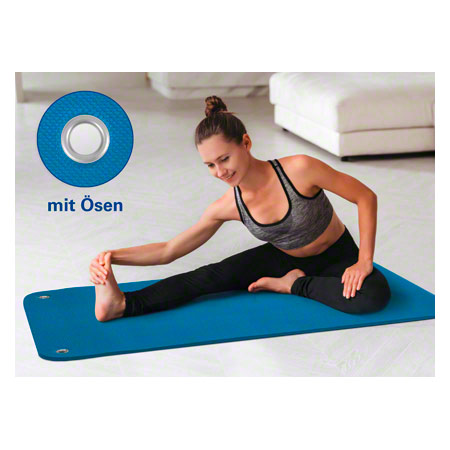 Sport-Tec Therapiematte inkl. Ösen, LxBxH 140x60x1,5 cm 02990
