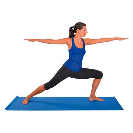 Yogamatte, LxBxH 180x60x0,4 cm, blau 03003