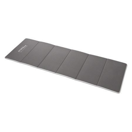 Sport-Tec Gymnastikmatte faltbar Klappmatte, LxBxH 180x60x0,7 cm, grau 03005