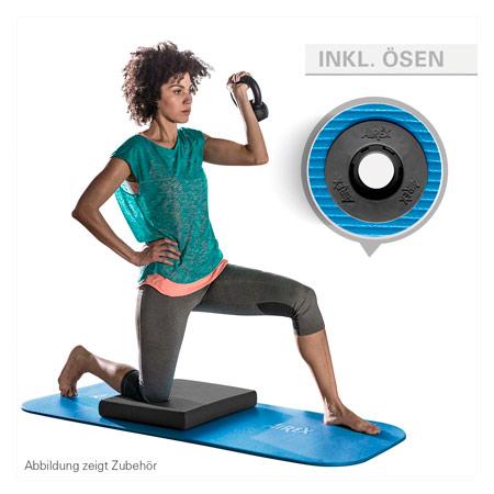AIREX Gymnastikmatte Coronella Fitness 120 inkl. Ösen, LxBxH 120x60x1,5 cm 03026