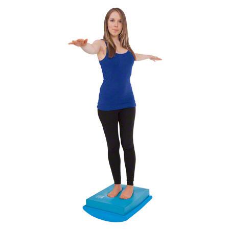 AIREX Balance-Set: Balance-pad + Koordinationswippe, 2-tlg. 03057
