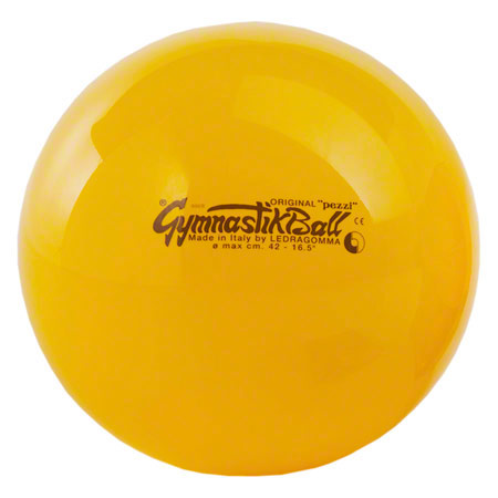 PEZZI Gymnastikball, ř 42 cm, gelb 03400