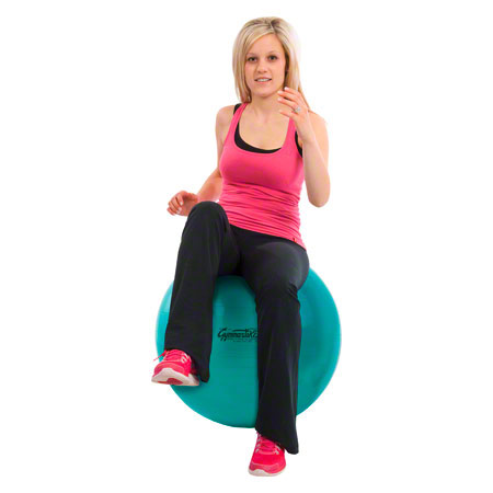 PEZZI Gymnastikball, Ř 65 cm, grün 03404