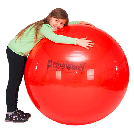 PEZZI Gymnastikball, Ř 95 cm, rot 03408