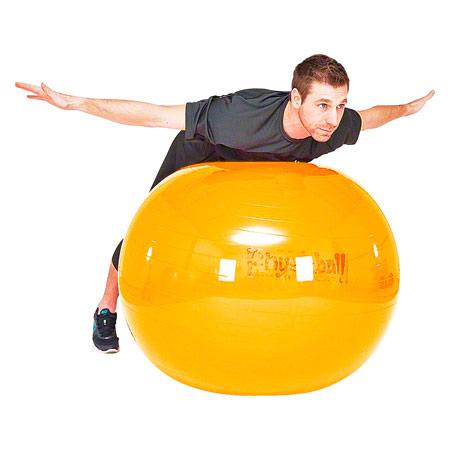 PEZZI Gymnastikball, Ř 105 cm, gelb 03410