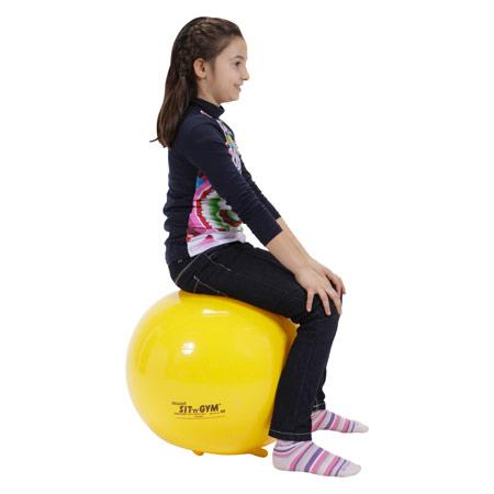 Sit'n Gym Sitzball, ø 45 cm, gelb