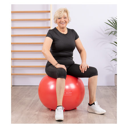 Sit'n Gym Sitzball, ø 55 cm, rot