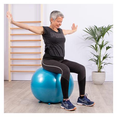 Sit'n Gym Sitzball, ø 65 cm, blau