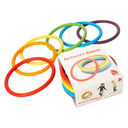 Gonge Activity Rings, 6 Stück 03432