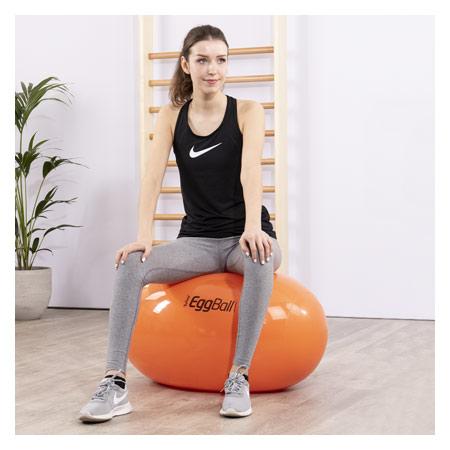 PEZZI Therapierolle Eggball, Ř 55 cm x 80 cm, orange 03442
